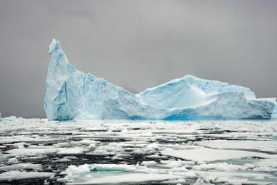 Antarctica, Iceberg, Blue Ice by George Theodore