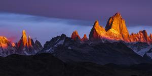Argentina, Patagonia, Sunrise, colorful by George Theodore
