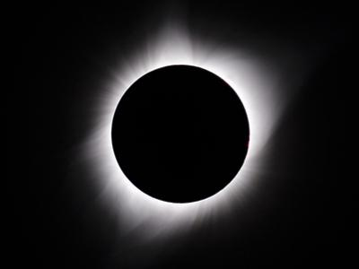 Solar eclipse by George Theodore