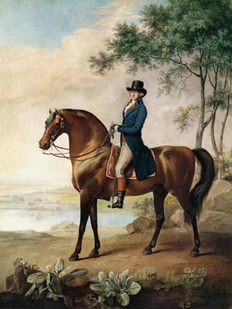 Warren Hastings Esq. on His Arabian Horse, after a Painting by George Stubbs, 1796 (1724-1806)