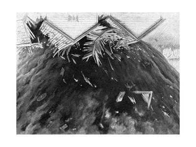 Tornado in Kirksville, Missouri, 1889