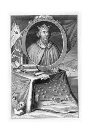 Alfred the Great, King of Wessex, 9th century (18th century)