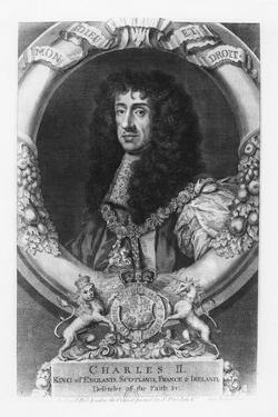 Charles II, King of England by George Vertue