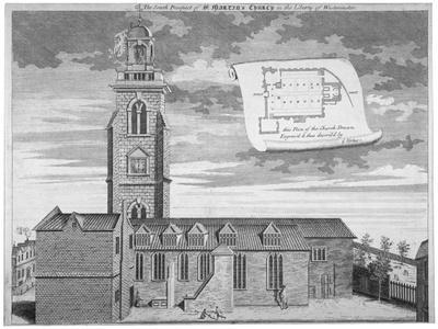 Church of St Martin-In-The-Fields, Westminster, London, C1720