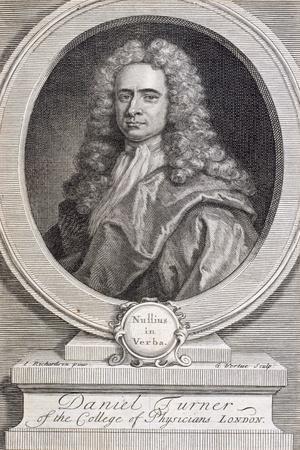 Daniel Turner, Md, Lrcp, Physician, 1717