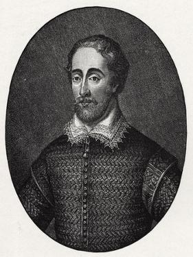 Edmund Spenser - portrait by George Vertue