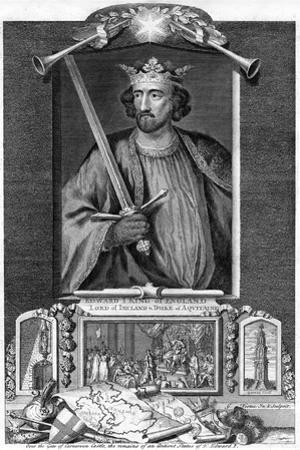 Edward I of England by George Vertue