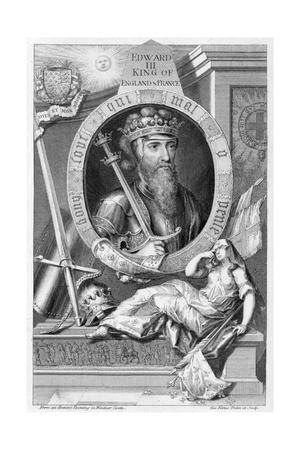 Edward III, 14th century King of England, (18th century)