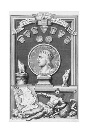 Egbert, King of the West Saxons and first monarch of all England, (18th century)