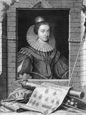 Elizabeth of Bohemia, C1700-1750 by George Vertue