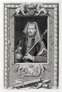 Henry IV, King of England, (18th century) by George Vertue