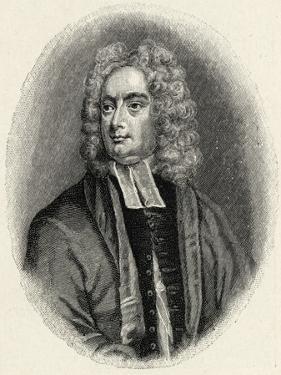 Jonathan Swift - portrait by George Vertue