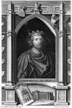 King Henry III by George Vertue