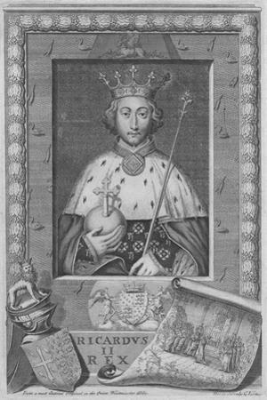King Richard II, 1735 by George Vertue