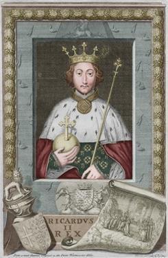'King Richard II', 1735 by George Vertue