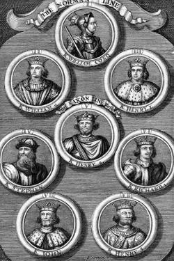 Kings of England by George Vertue