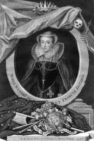 Mary, Queen of Scots, (173) by George Vertue