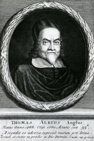 Portrait of Thomas Albius (White) (1588-1680), 1713 by George Vertue