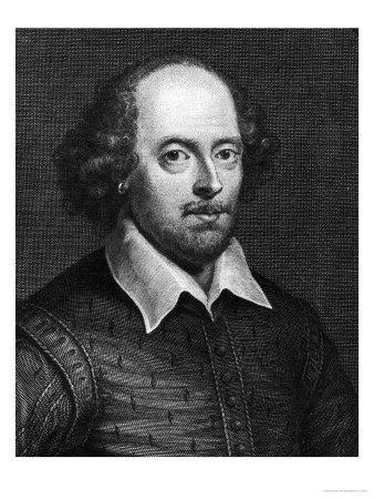 Portrait of William Shakespeare 1719