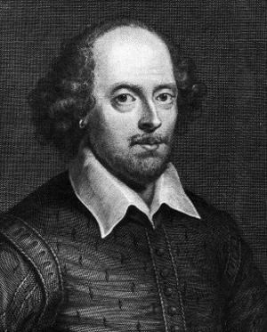 Portrait of William Shakespeare 1719 by George Vertue