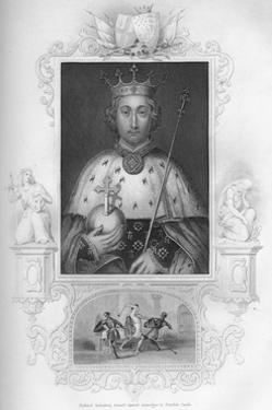 'Richard II', 1859 by George Vertue