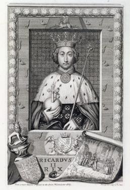 Richard II, King of England, (18th century) by George Vertue