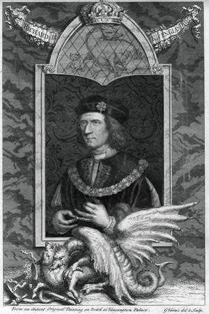 Richard III of England by George Vertue
