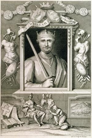 William the Conqueror, 11th century Duke of Normandy and King of England, (18th century) by George Vertue