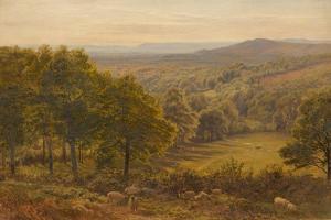 Surrey Hills, 1875 by George Vicat Cole