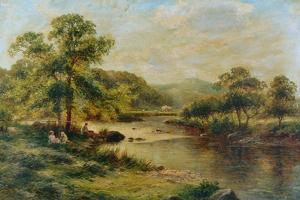 The Dales of Derbyshire, 1891 by George Vicat Cole