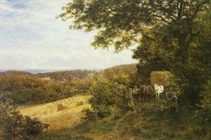 The Full Load by George Vicat Cole