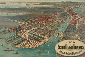 Boston Freight Terminals by George Walker & Co.