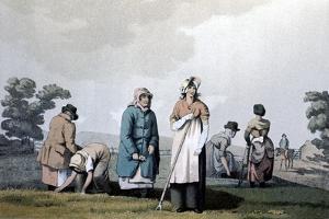 Lowkers - Women Who Weeded Corn, 1814 by George Walker