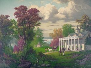 George Washington Arriving at Mount Vernon
