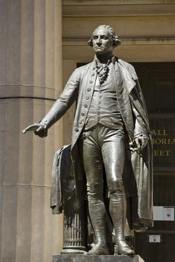 George Washington Statue Outside the Federal Hall National Memorial