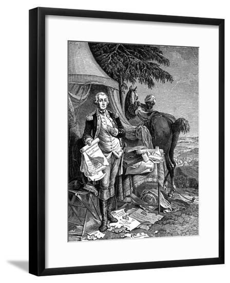 George Washington--Framed Giclee Print
