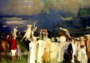 A Game of Polo, 1910 by George Wesley Bellows