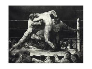 A Stag at Sharkey's by George Wesley Bellows