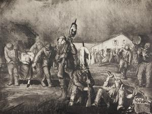 Bacchanal, 1918 by George Wesley Bellows