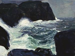Blackhead and Sea by George Wesley Bellows