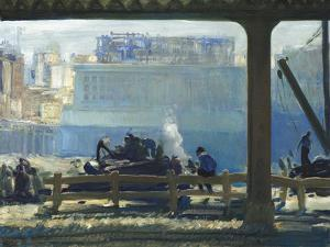 Blue Morning by George Wesley Bellows