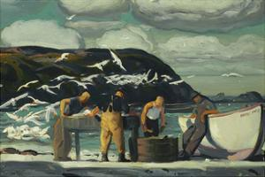 Cleaning Fish by George Wesley Bellows