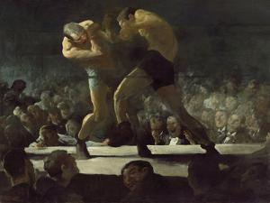 Club Night by George Wesley Bellows