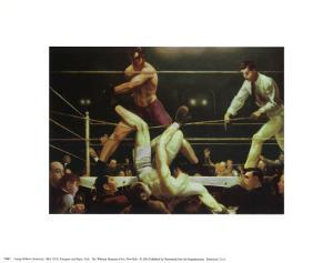 Dempsey and Fipro, 1924 by George Wesley Bellows