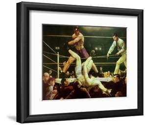 Dempsey and Firpo, 1924 by George Wesley Bellows
