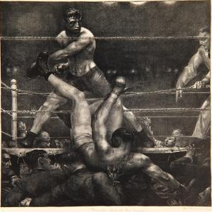 Dempsey Through the Ropes, 1923-24 by George Wesley Bellows