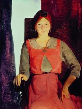 Geraldine Lee, 1914 by George Wesley Bellows