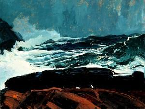 Lobster Cove, Monhegan, Maine, 1913 by George Wesley Bellows