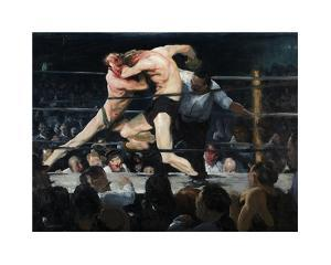 Stag Night at Sharkey's by George Wesley Bellows