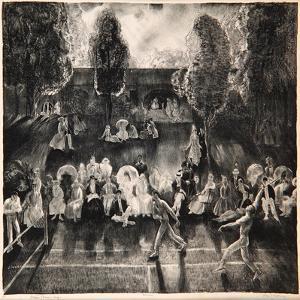 Tennis, 1920 by George Wesley Bellows